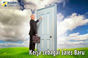kerja sebagai sales baru