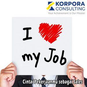 cintai pekerjaanmu